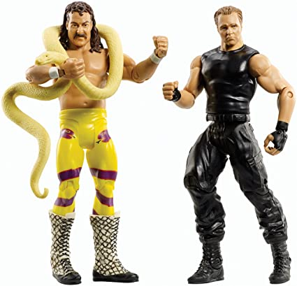 998ad6fa9cc544 Amazon.com: WWE Battle Pack Series #30 - Jake The Snake Roberts ...