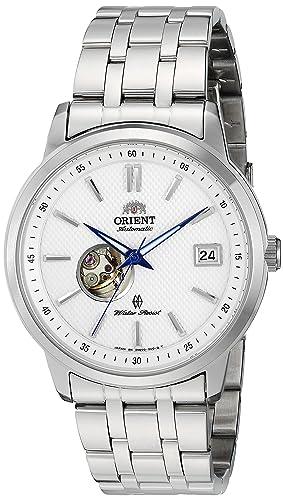 Orient Moderno Reloj automático a corazón Abierto con Cristal de Zafiro dw00003 W: Amazon.es: Relojes