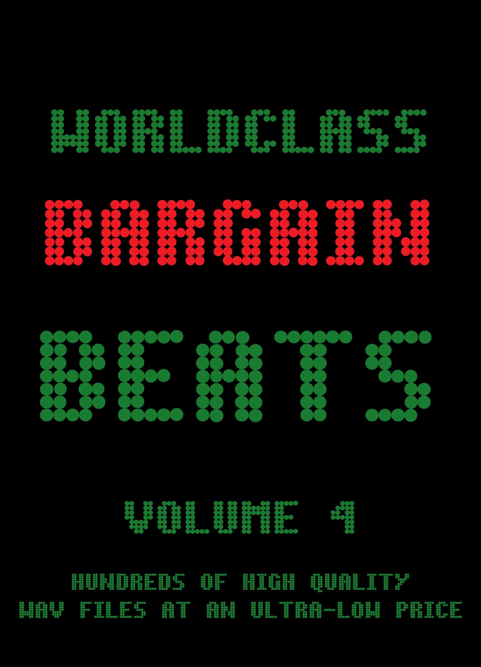 Worldclass Bargain Beats - Volume 4 - WAV [Download]