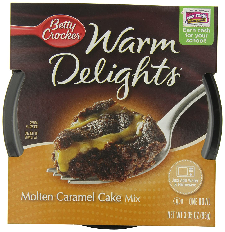 Warm Delights Molten Caramel Cake