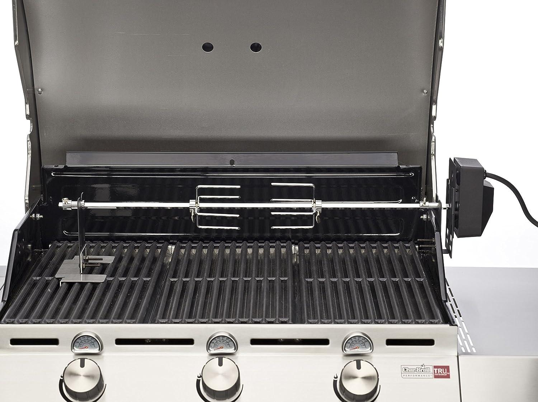 bbq toro grillspie set 90 cm inkl edelstahl motor 220v 240v drehspie rotisserie. Black Bedroom Furniture Sets. Home Design Ideas
