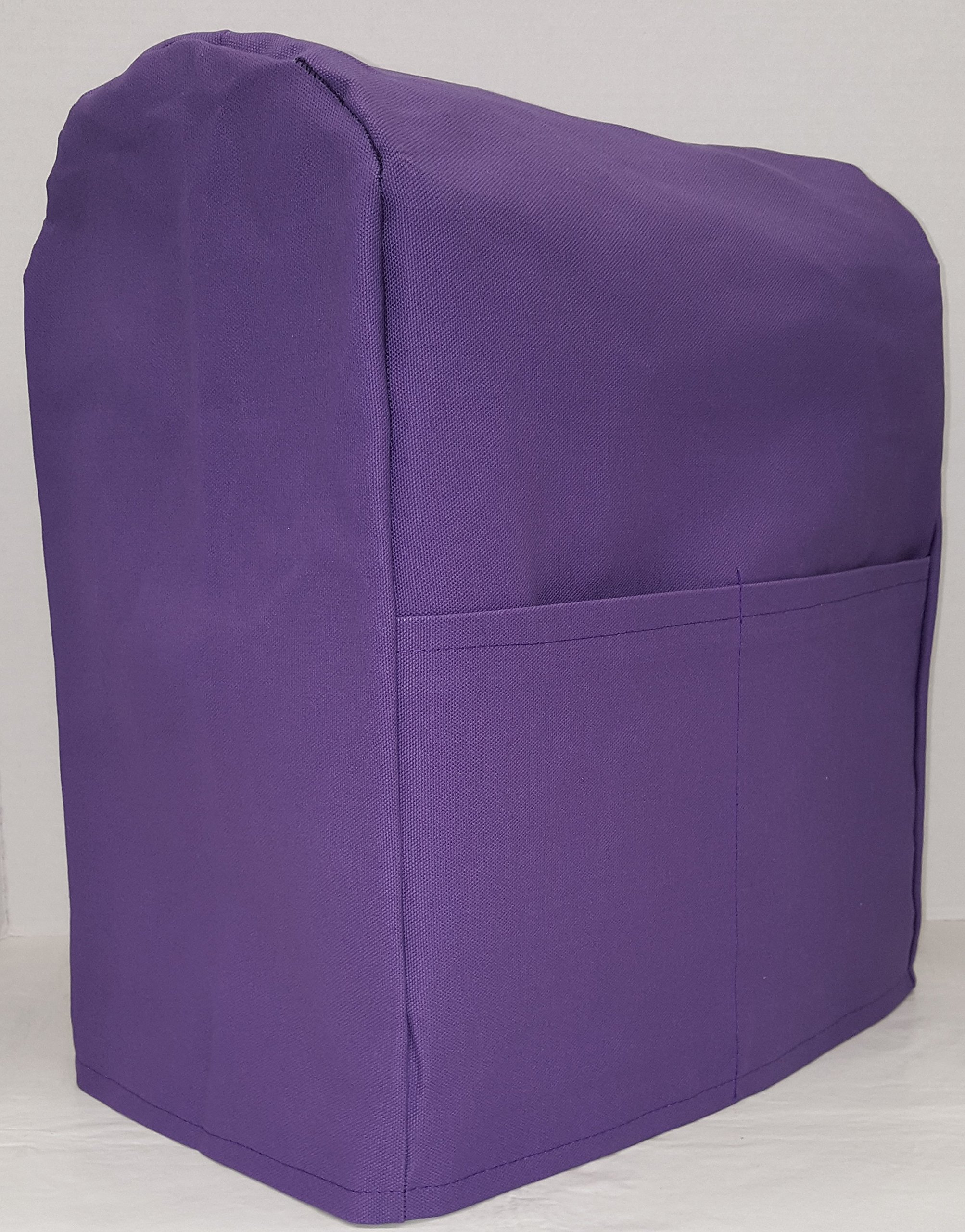 Penny's Needful Things Canvas Cover Compatible for Kitchenaid Stand Mixer (Purple, 4.5,5,6qt Lift Bowl)