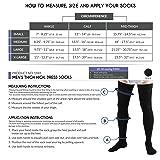 Truform Compression Socks, 20-30 mmHg, Men's Dress