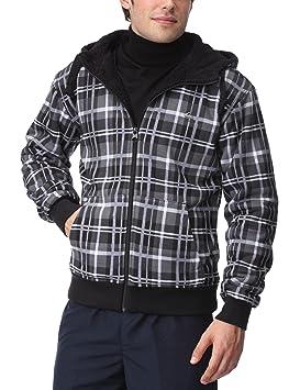 Quiksilver Sherpa All - Sudadera para hombre, tamaño L, color blanco