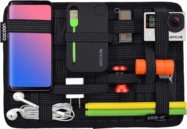 """Cocoon CPG8BK GRID-IT! Accessory Organizer - Medium 10.5"""" x 7.5"""" (Black)"""