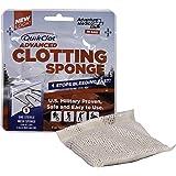 QuikClot Advanced Clotting Sponge, Silver, 25g, 0.09 Pound