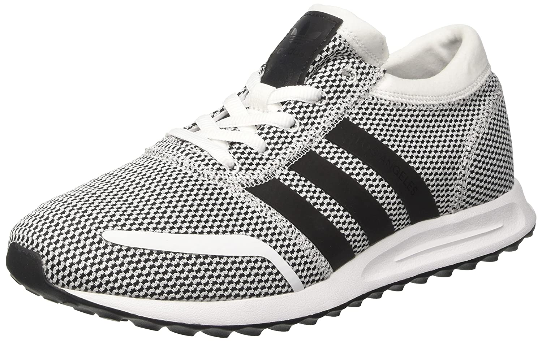Adidas los Angeles, Zapatillas para Hombre 44 EU|Blanco (Ftwr White / Core Black / Ftwr White)