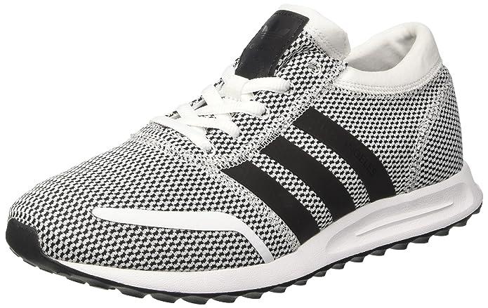 adidas Los Angeles Schuhe Herren weiß/schwarz mit schwarzen Streifen