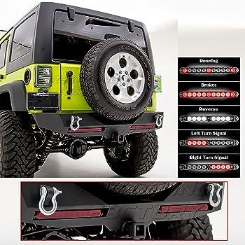 Amazon Com Restyling Factory Rock Crawler Rear Bumper W