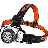Pathfinder - Frontal con 21 luces LED (resistente al agua) Con 4 funciones. Con sujeción para la cabeza. Luces LED con 100.000 horas de duración.