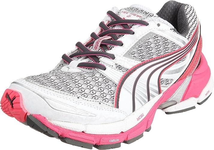 Puma Complete Vectana 2 W, Zapatillas de Running para Mujer, Blanco (White/Fluo Pink Silver/Dark Shadow), 42.5 EU: Amazon.es: Zapatos y complementos