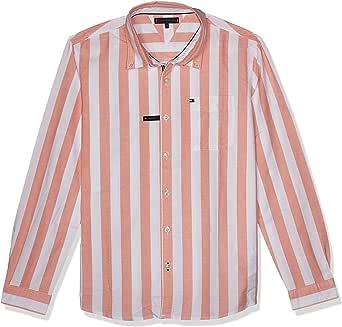Tommy Hilfiger Boy's Oxford Stripe L/S Shirt