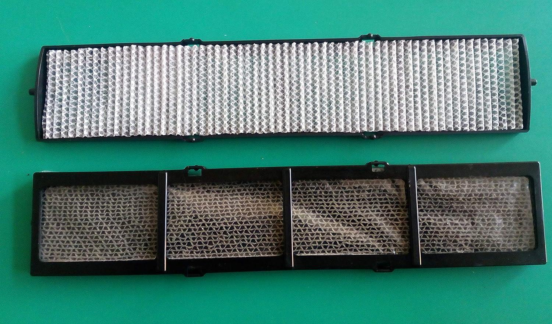 Filtri elettrostatici e fotocatalitici con telaietti di supporto per condizionatori Fujitsu