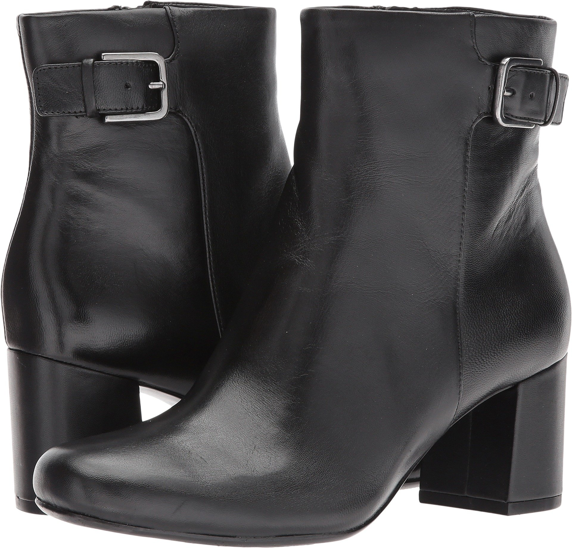 Naturalizer Women's Willette Black Leather 9 M US