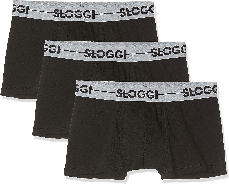 Sloggi Braguita para Hombre Pack de 3