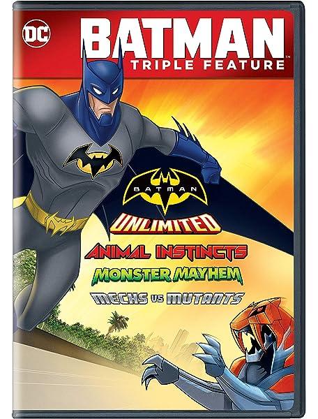 Amazon.com: Batman Unlimited: Monster Mayhem (Blu-ray + DVD ...