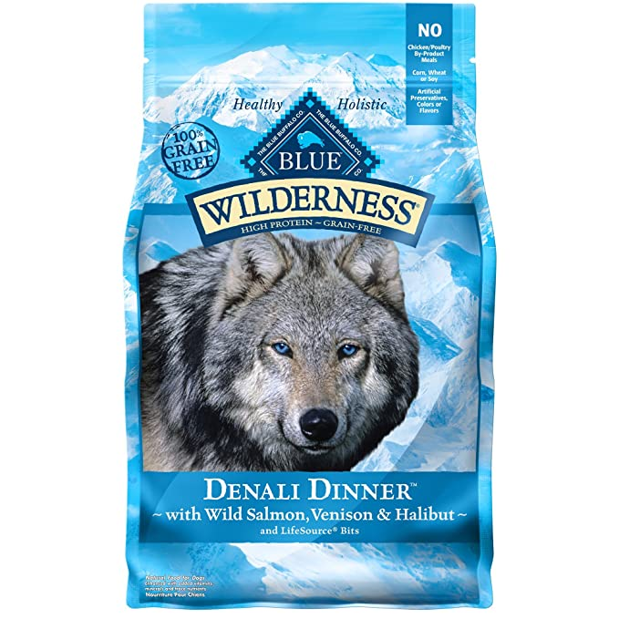 Blue Buffalo Blue Wilderness Denali Dinner Dog Food - Top Pick Dog Food for Seizures