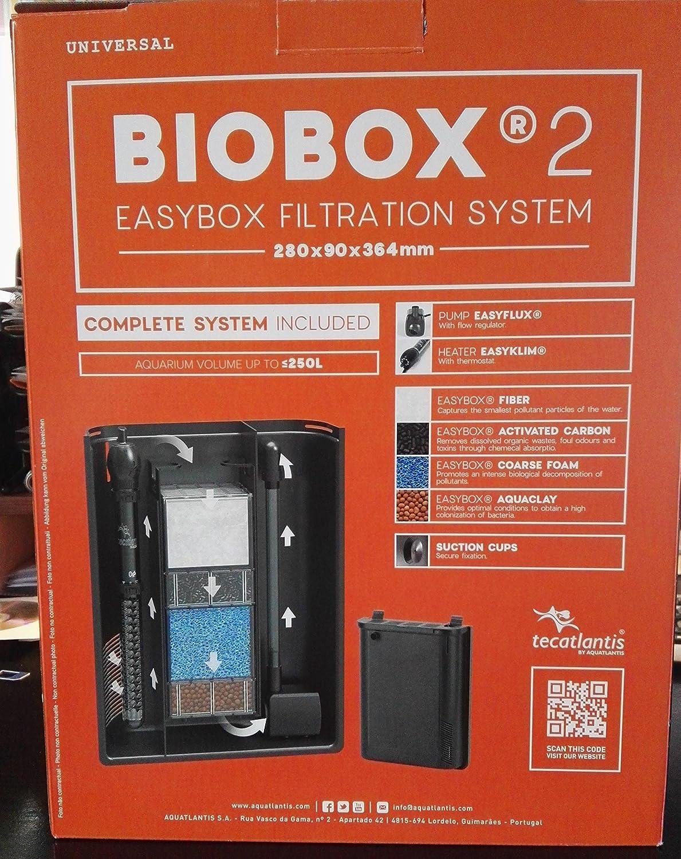 280 x 90 x 364 mm Aquatlantis Biobox 2, 280 x 90 x 364 mm