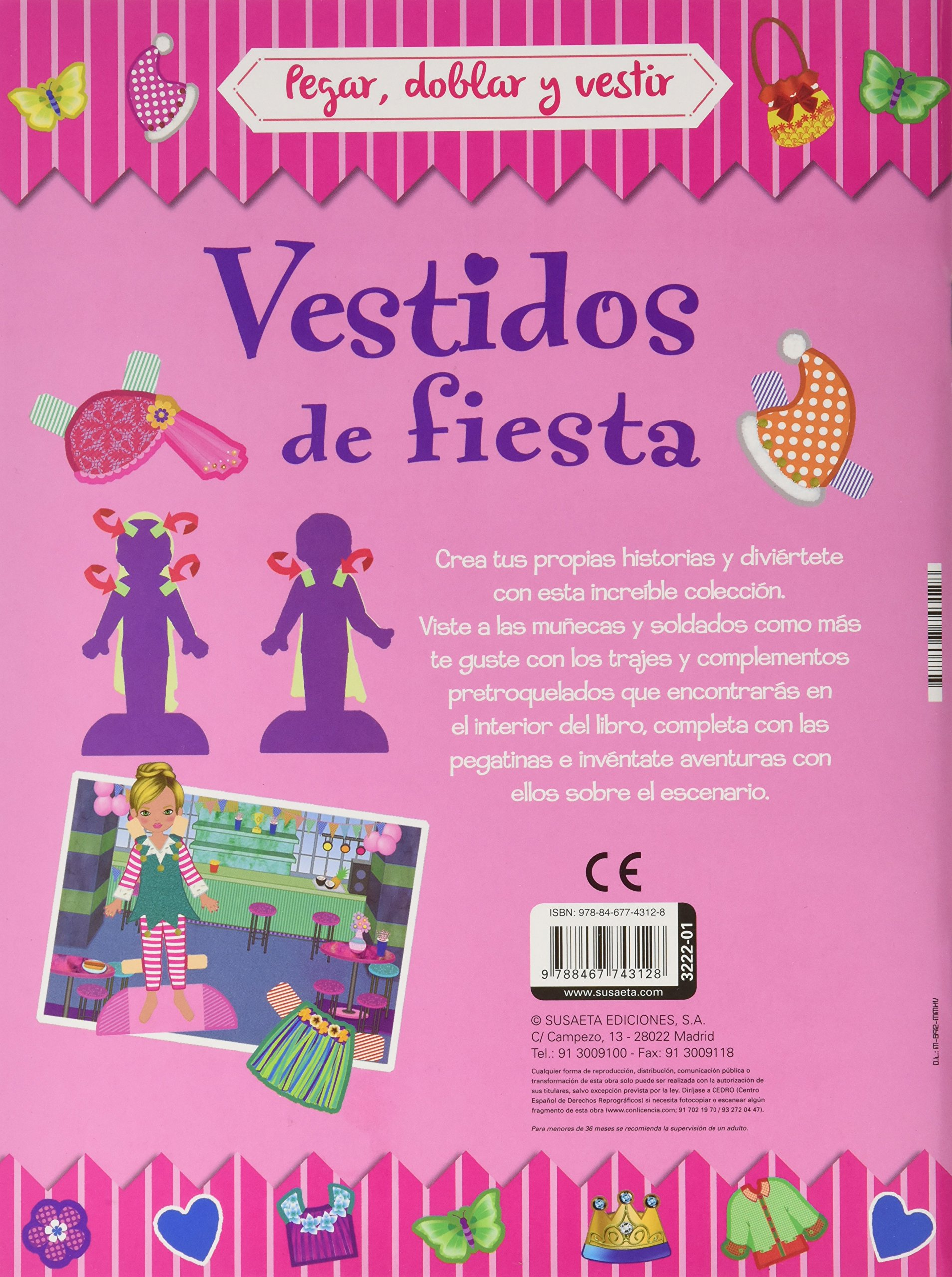 PACK(4). PEGAR, DOBLAR Y VESTIR (4 TITULOS): Equipo Susaeta ...