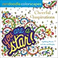 Zendoodle Colorscapes: Cheerful Inspirations: Uplifting Words to Color and Display