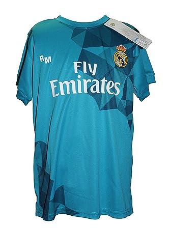 9ba2635438e92 Camiseta Real Madrid Oficial Tercera Equipación Dorsal Ronaldo 7  Amazon.es   Deportes y