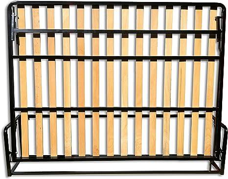 Wallbedking Cama De Matrimonio Abatible Horizontal 150 x 200 cm ...