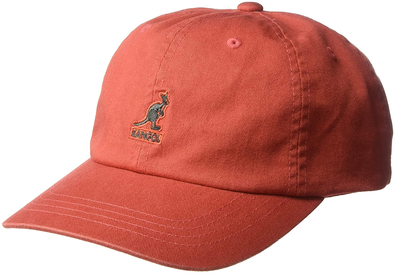 bd089522a Kangol Men's Washed Cotton Baseball Dad Cap