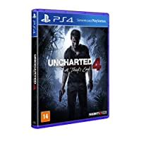 Uncharted 4. A Thief's End - Padrão - PlayStation 4