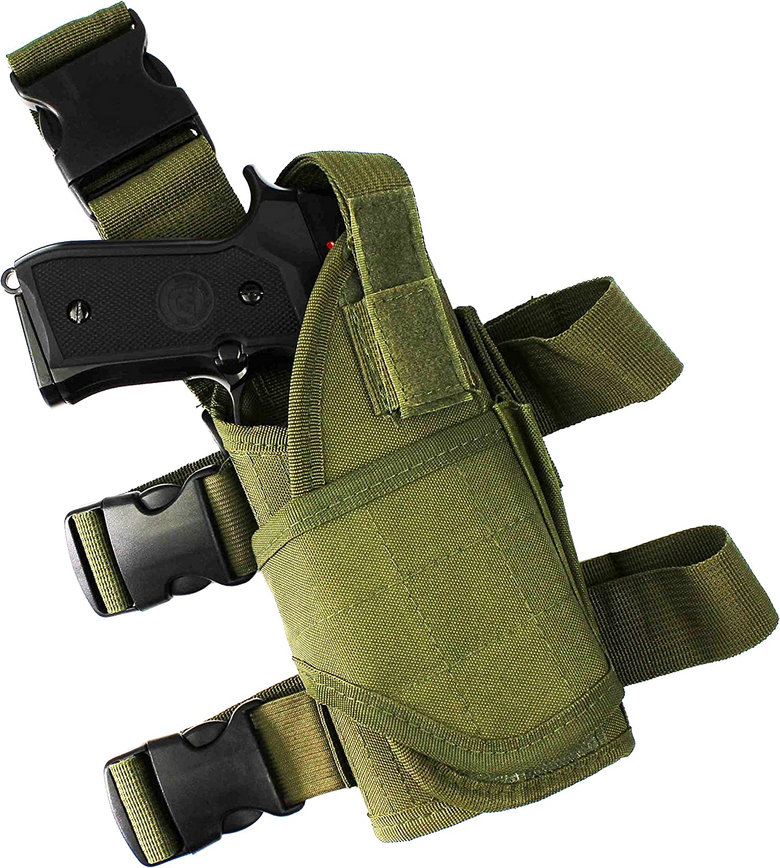 Funda t/áctica de pistola para pierna ajustable de Htuk/®