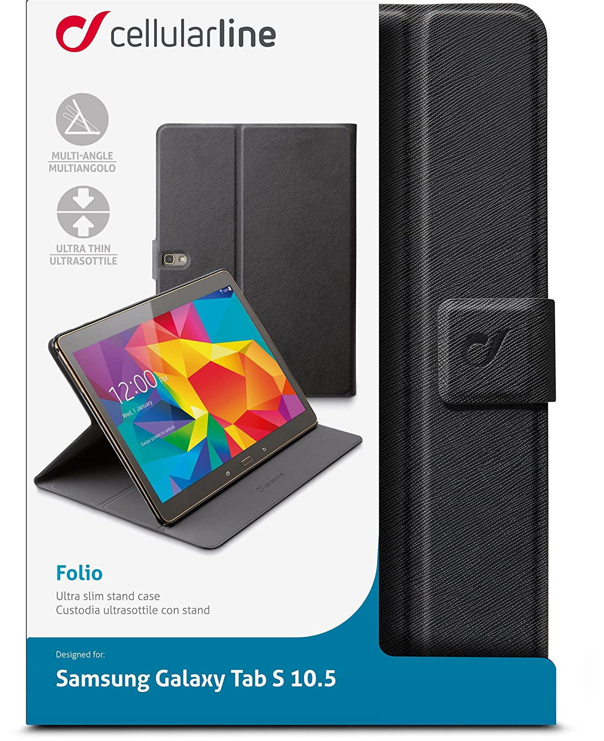 custodia cellularline galaxy tab s 10.5