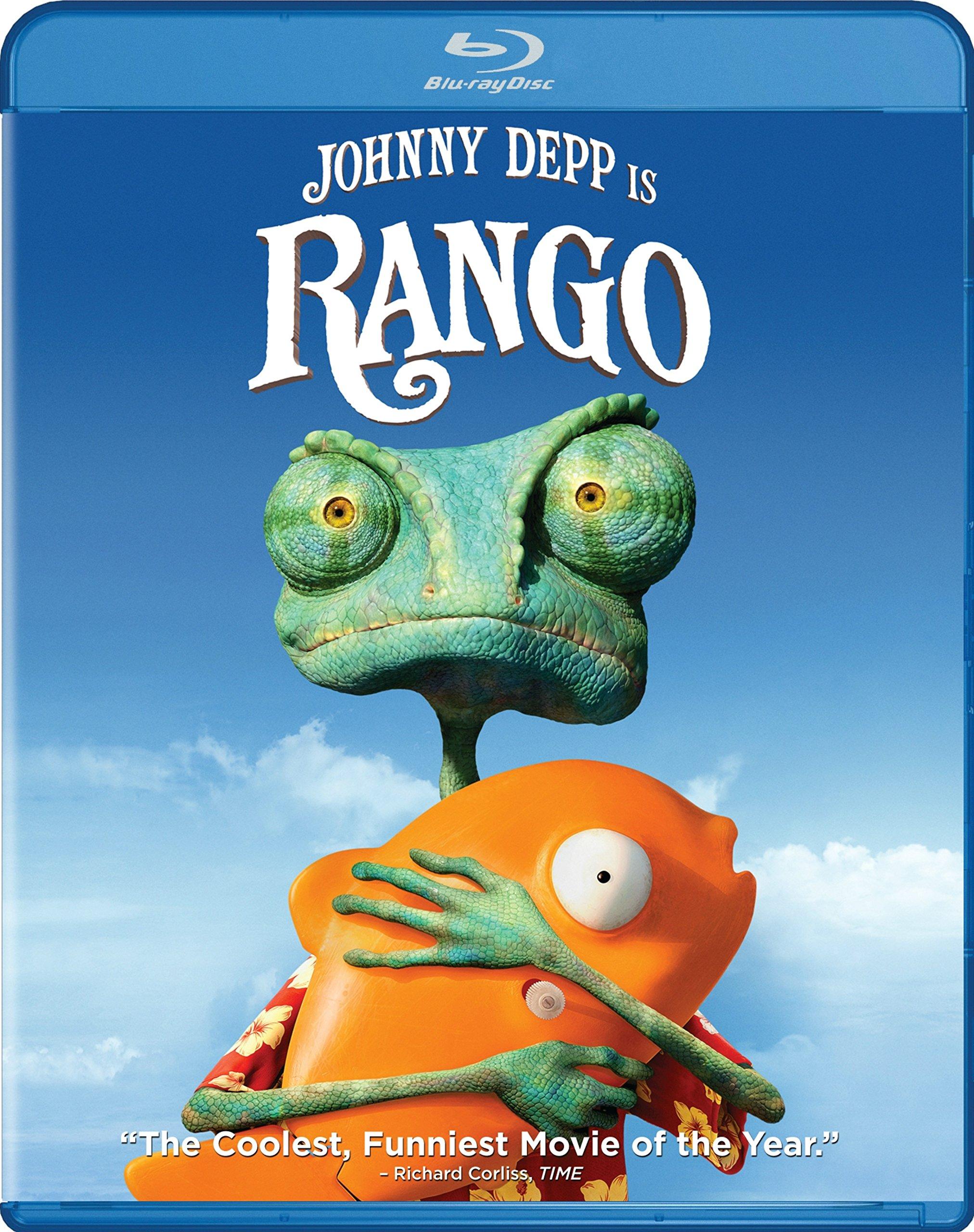 Blu-ray : Rango (Blu-ray)