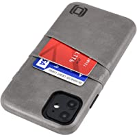 "Dockem iPhone 11 Wallet Case: Built-in Metal Plate for Magnetic Mounting & 2 Credit Card Holder Slots (6.1"" Exec M2…"