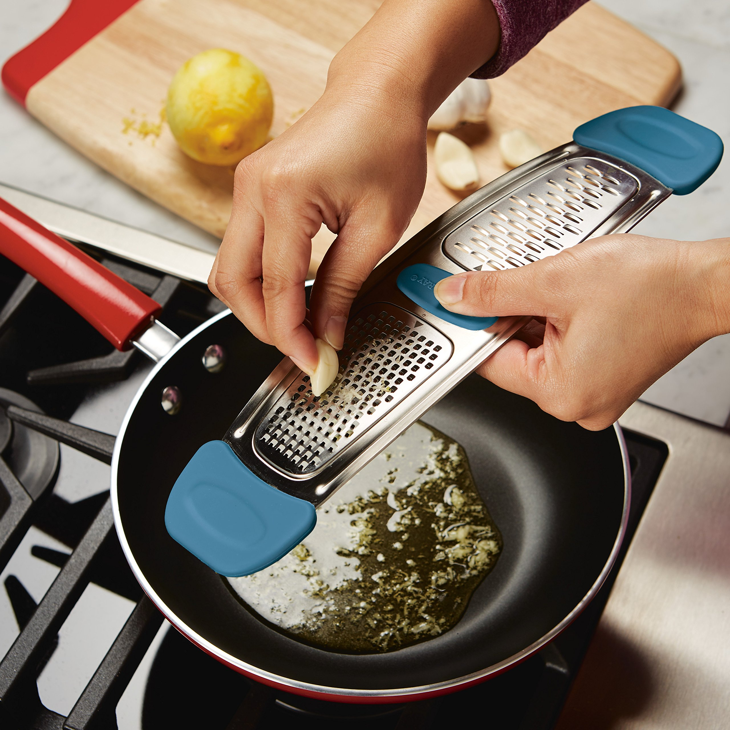 Rachael Ray 46913 Tools Grater, Small, Marine Blue by Rachael Ray (Image #2)