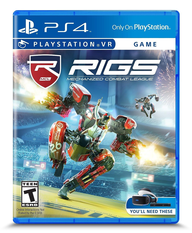 RIGS Mechanized Combat League - PSVR - PlayStation 4: PlayStation 4 ...
