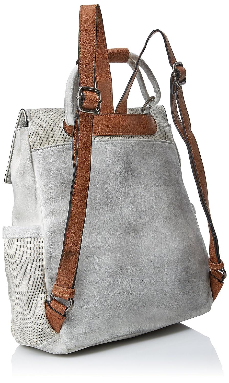 Refresh 83130, Mochila para Mujer, Blanco (Hielo) 36x36x10 cm (W x H x L): Amazon.es: Zapatos y complementos
