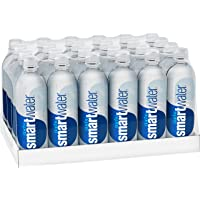 smartwater vapor distilled premium water bottles, 20 fl oz, 24 Pack