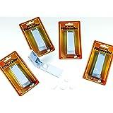 Pillenteiler 2 Stück -K&B Vertrieb- Pillentrenner Pillenzerkleinerer Tablettenzerkleinerer Pillenschneider Tablettenteiler Tablettentrenner 643
