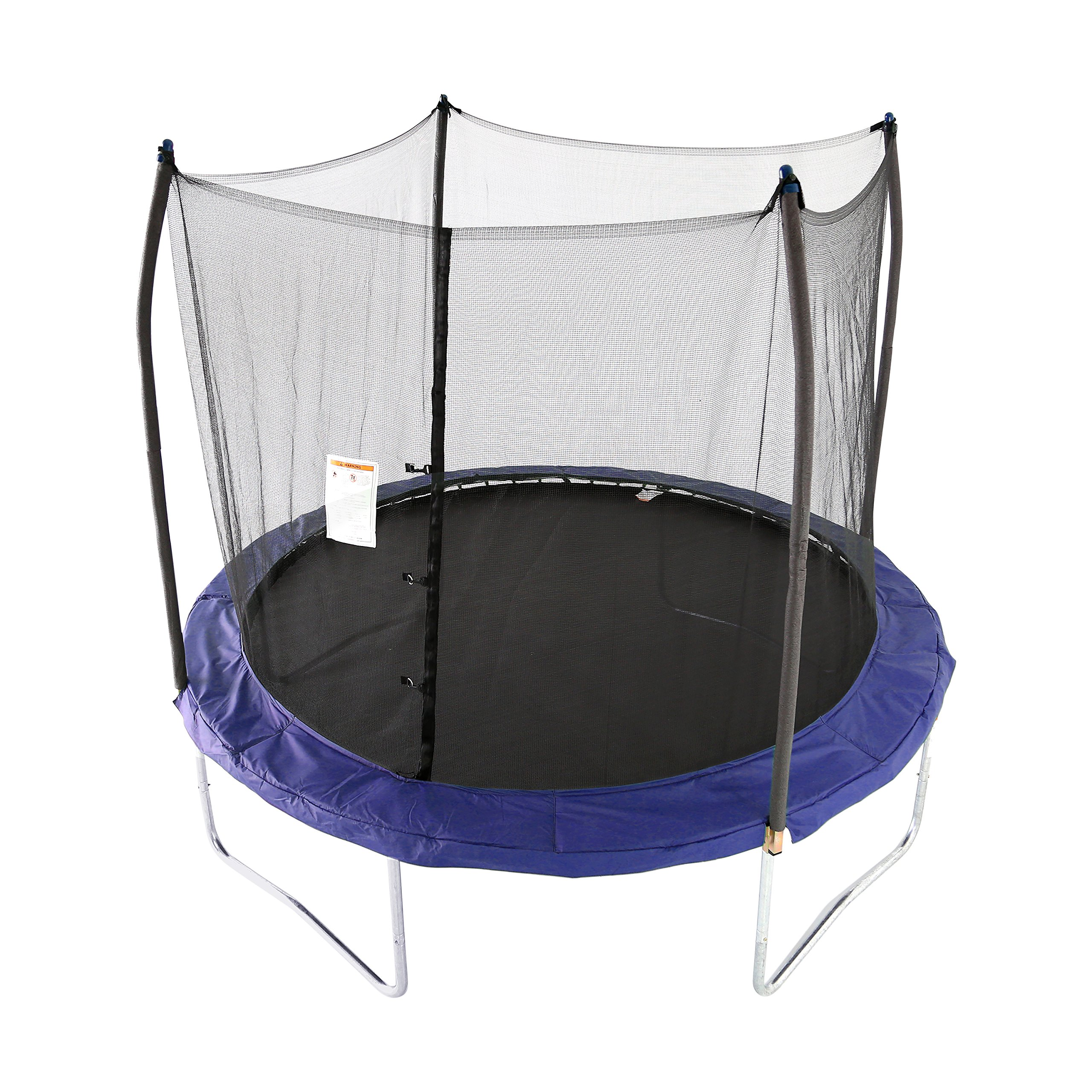Skywalker Trampolines 10 -Foot Round Trampoline and Enclosure with spring, Blue by Skywalker Trampolines