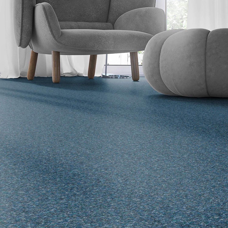 2 x 2 m verschiedene L/ängen Variante BODENMEISTER BM73501 Teppichboden Nadelfilz Nadelvlies Meterware Objekt blau 200 cm und 400 cm breit