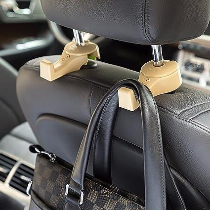 Amazon.com: i-SMART Car Headrest Hook, Universal Car Hanger Hook for ...