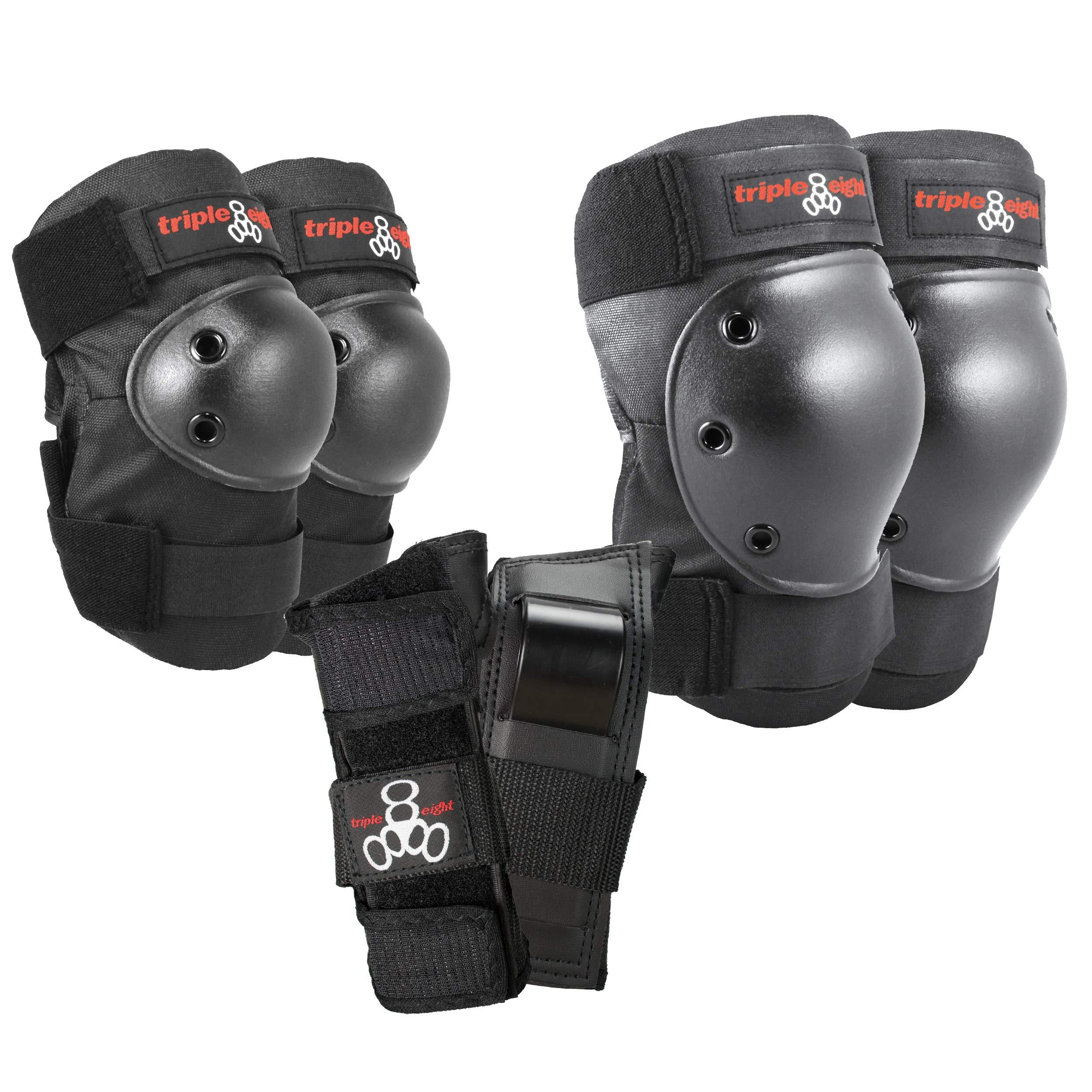 Triple Eight Saver Series Pad Set with Kneesavers, Elbowsavers and Wristsavers, Medium by Triple Eight