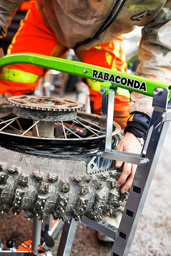 rabaconda motocicleta neumático cambiador/suciedad bicicleta Motocross portátil rueda neumático herramienta de eliminación: Amazon.es: Coche y moto