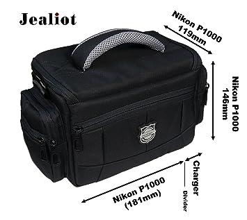 Jealiot - Funda para cámara Nikon Coolpix P1000