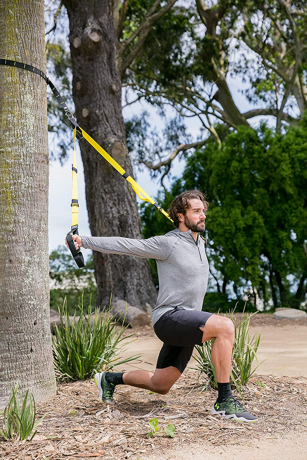 TRX Suspension Training: Home Gym in a Box Burn Fat Build Muscle Free Workouts Included Full Body Workout Solution for Any Level Improve Cardio