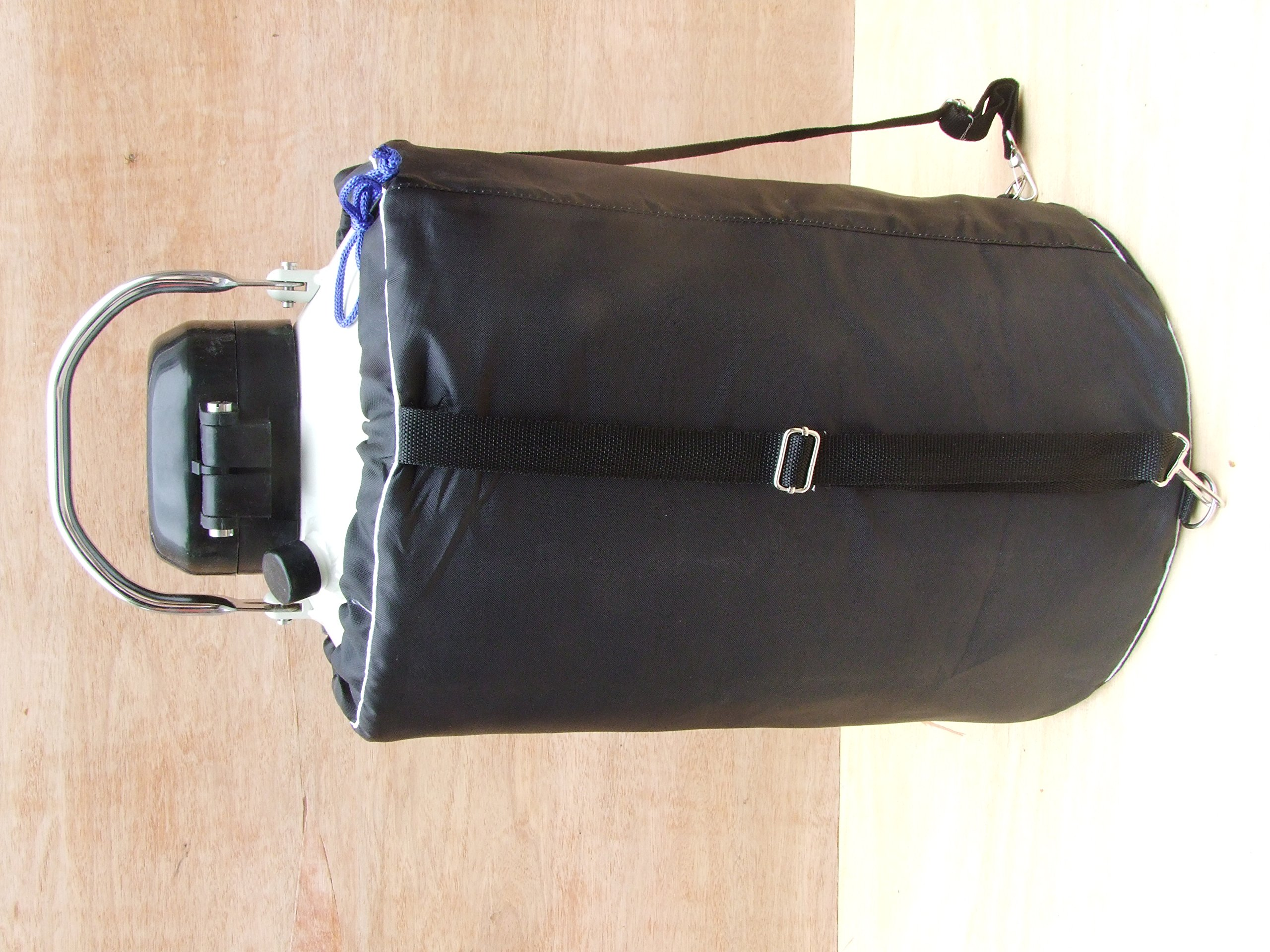 10 L Cryogenic Container Liquid Nitrogen Ln2 Tank with Straps and Carry Bag by HardwareFactoryStore.com (Image #6)
