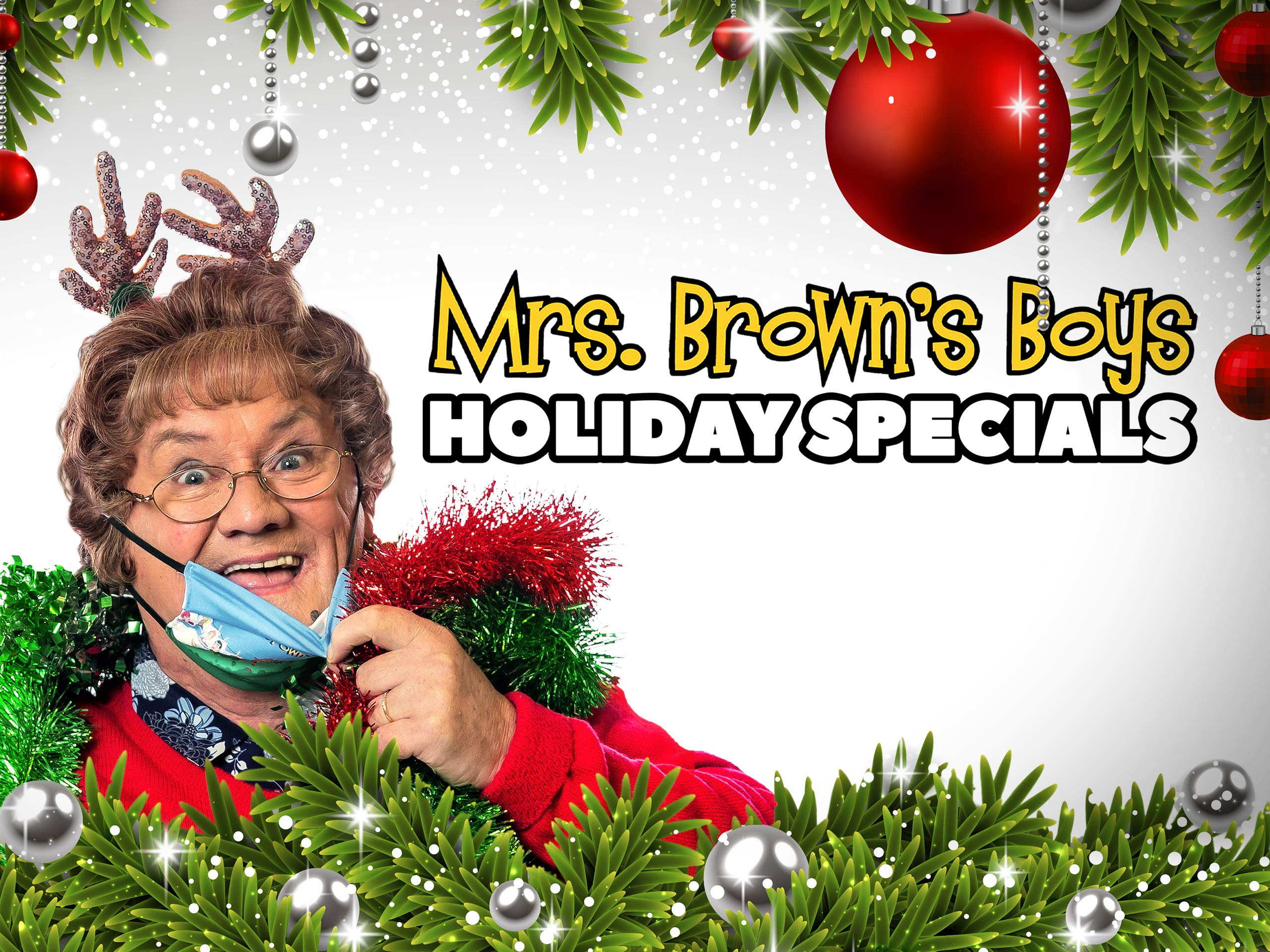 Mrs Browns Boys...Full Episodes Christmas Special 2021 Watch Mrs Brown S Boys Holiday Specials 2019 2020 Prime Video