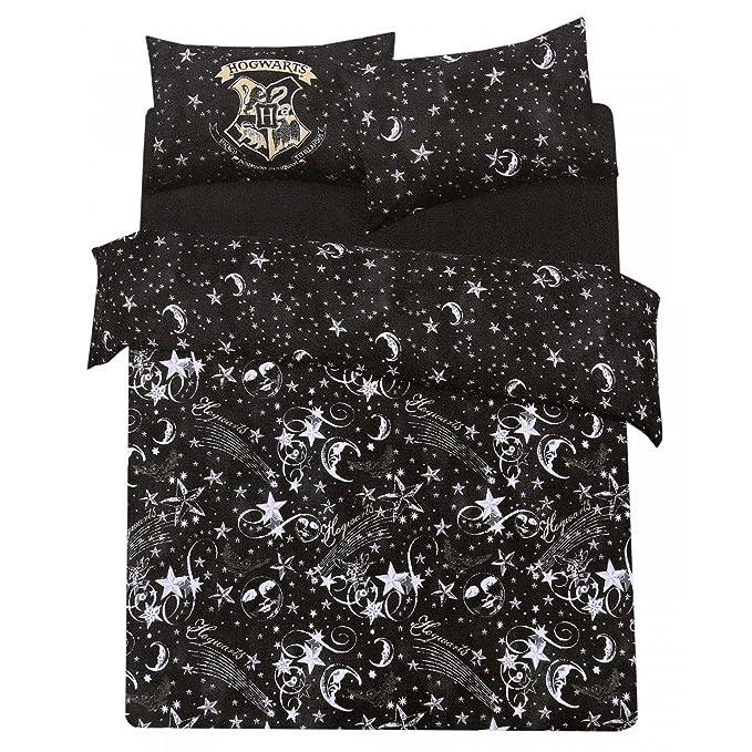 Lenzuola Harry Potter.Harry Potter Mono Reversible Duvet Pillowcase Set Single