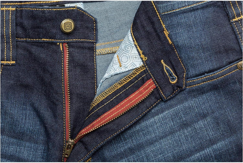 con Cappello TacFirst Twill Jeans da Uomo KLK Set 5.11 Defender-Flex Jean-Slim
