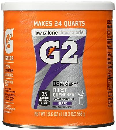 Gatorade Perform G2 02 Perform Thirst Quencher Instant Powder Grape Drink  19.4 Oz. (1