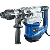 LUX-TOOLS BHA-1500 Bohrhammer mit SDS Plus Aufnahme, Antivibrationsgriff & Tiefenanschlag inkl. Koffer | 230V 1500W Abbruchhammer mit 5,5 Joule Schlagstärke & regelbarer Drehzahl bis 850/min (Umdr.)